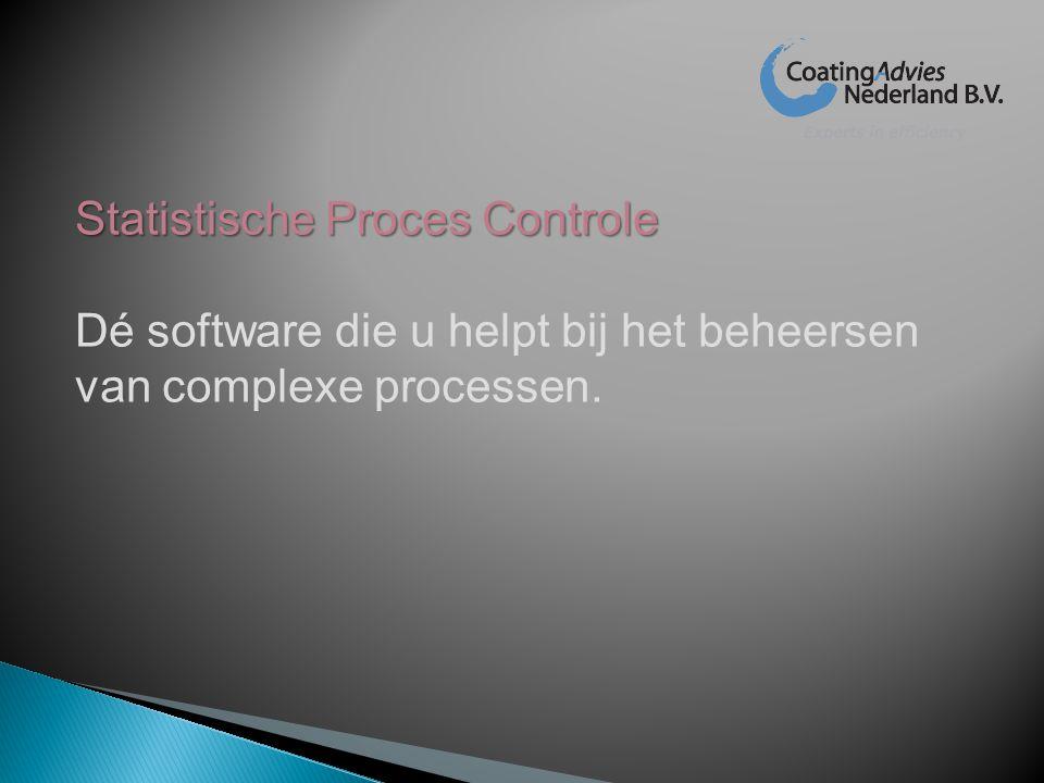 Statistische Proces Controle
