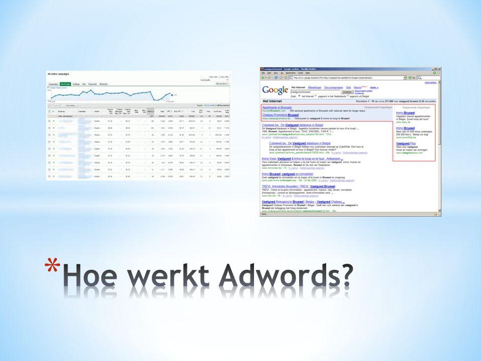 hoe werkt adwords