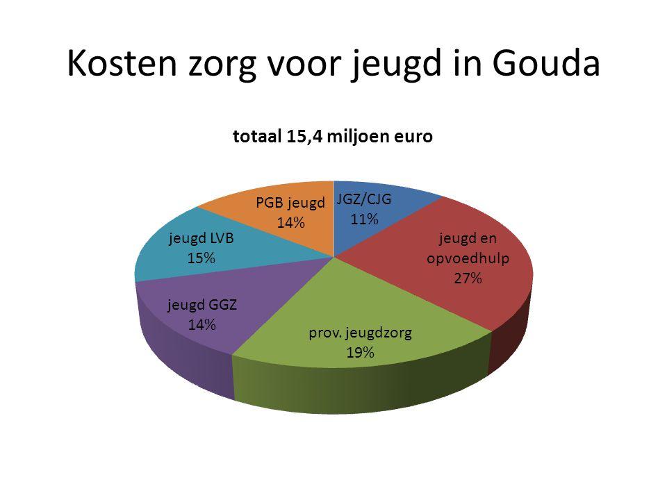 Kosten zorg voor jeugd in Gouda