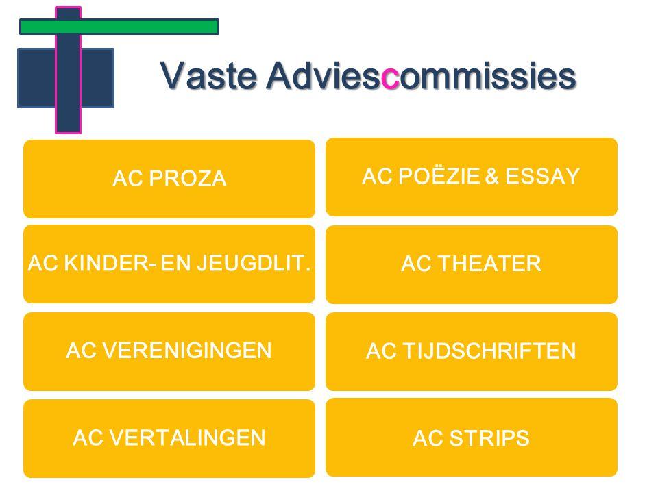 Vaste Adviescommissies