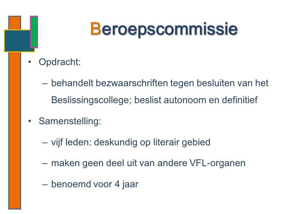 Beroepscommissie Opdracht: