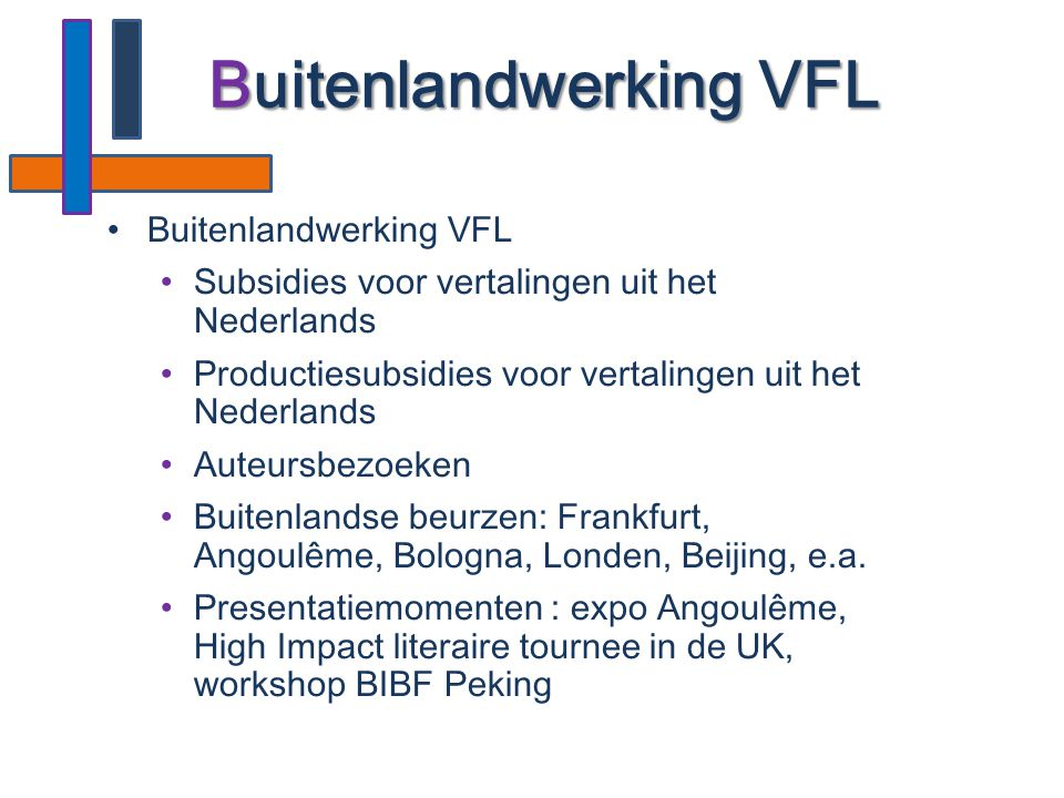 Buitenlandwerking VFL