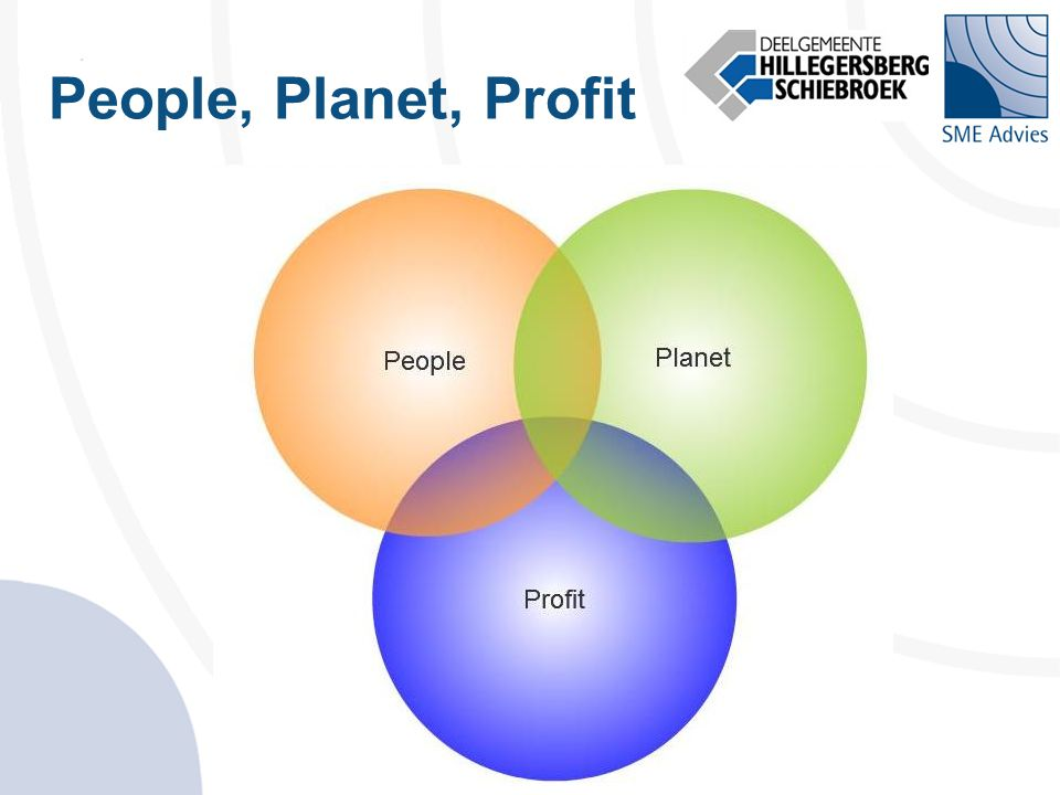 People, Planet, Profit