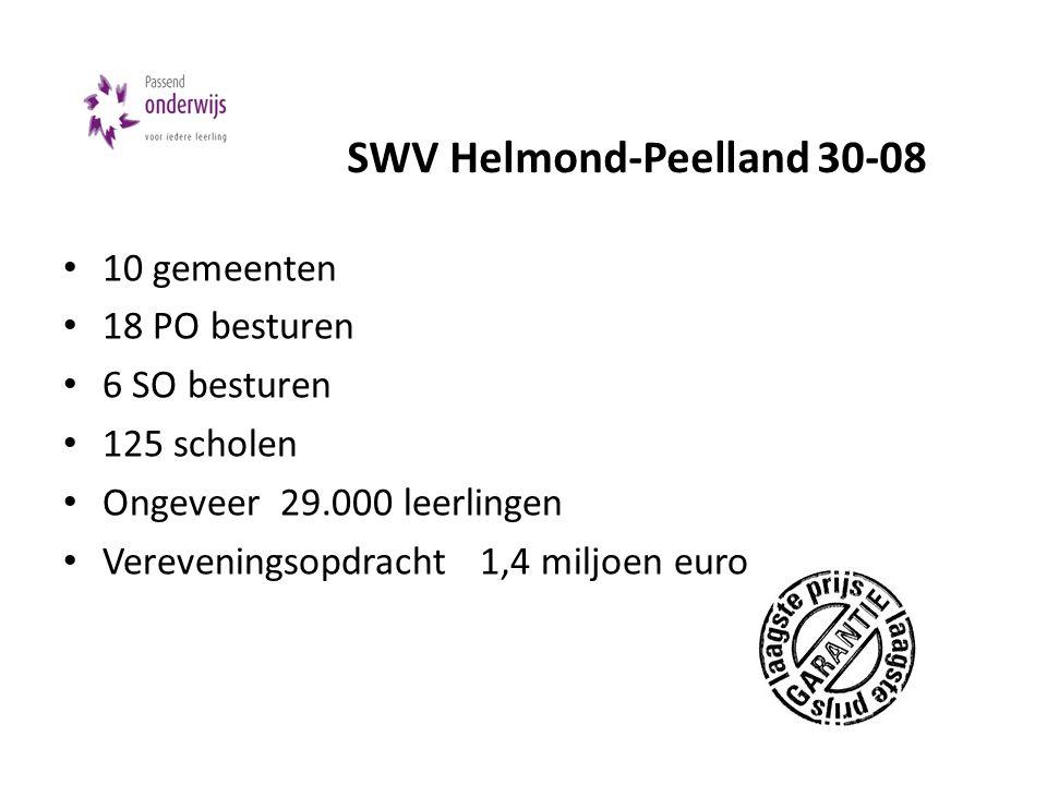SWV Helmond-Peelland 30-08
