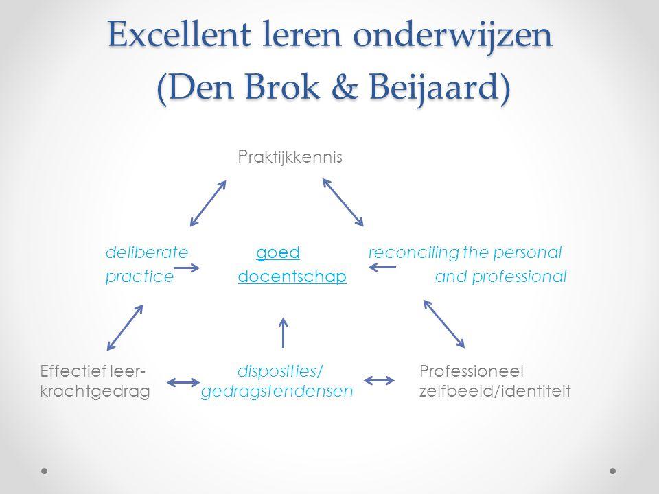 Excellent leren onderwijzen (Den Brok & Beijaard)