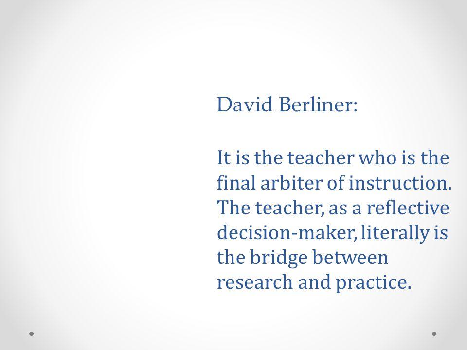 David Berliner:
