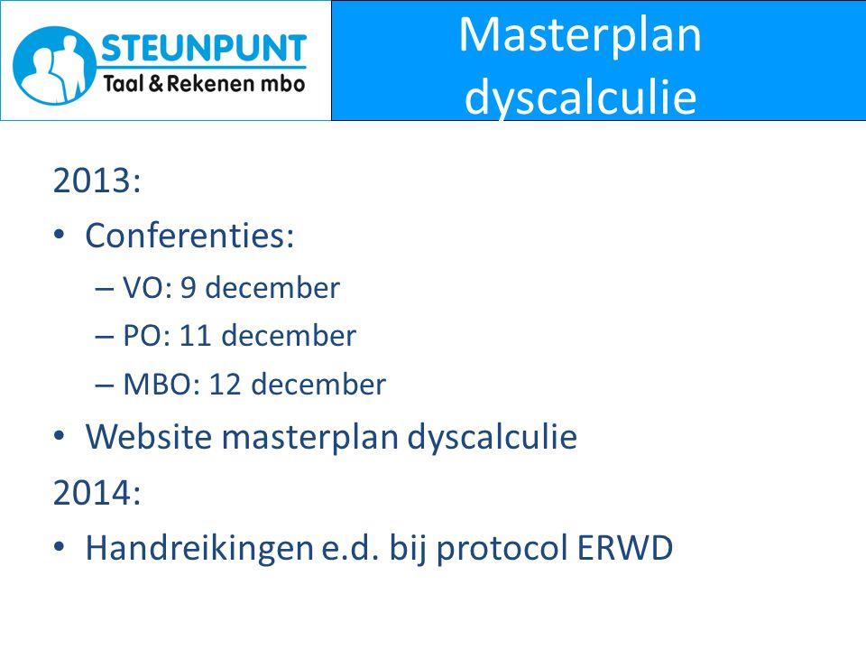 Masterplan dyscalculie