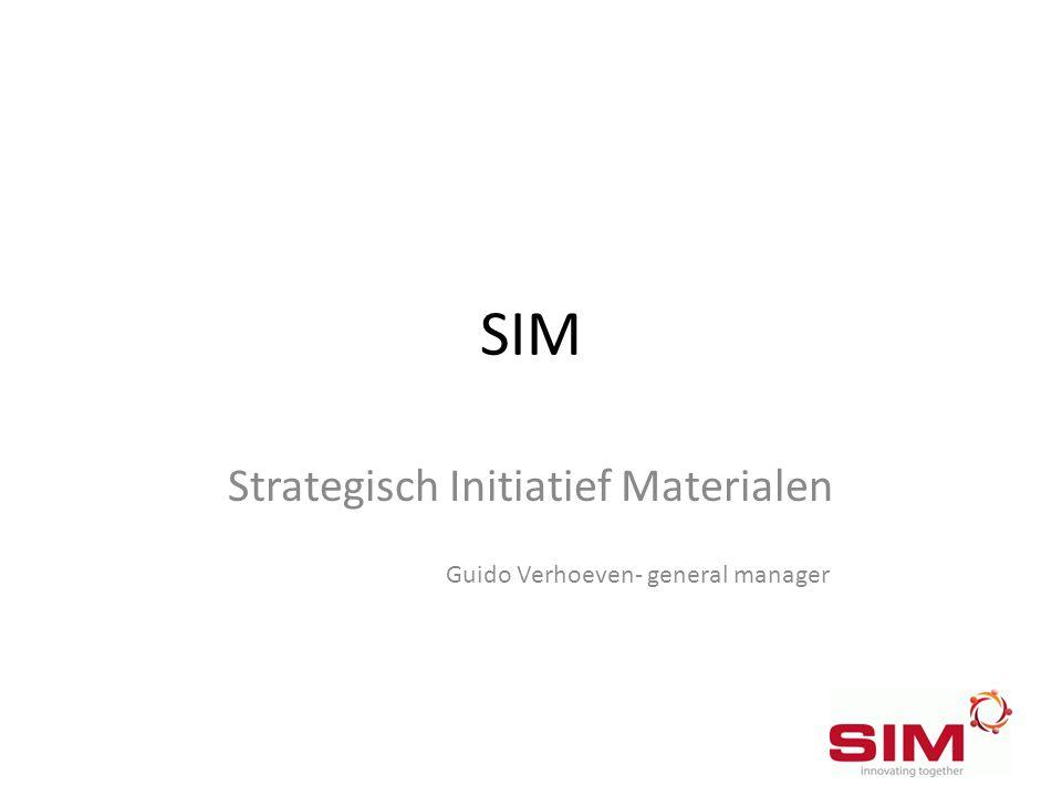 Strategisch Initiatief Materialen Guido Verhoeven- general manager