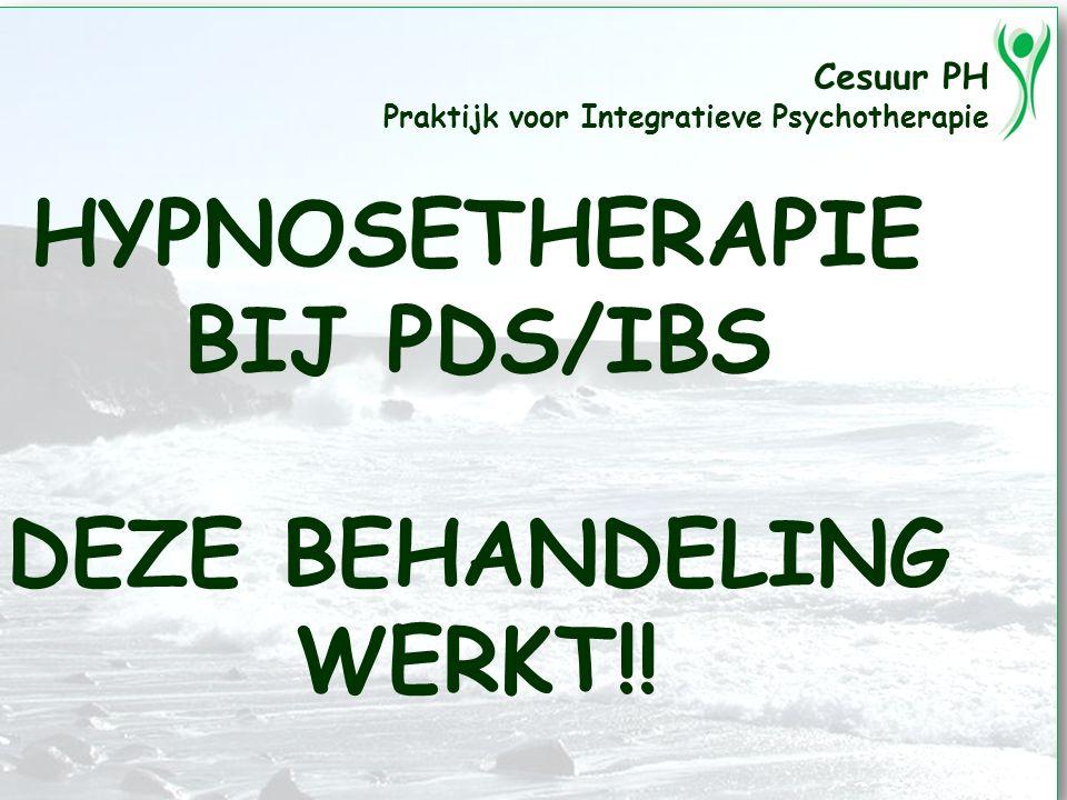 HYPNOSETHERAPIE BIJ PDS/IBS DEZE BEHANDELING WERKT!!