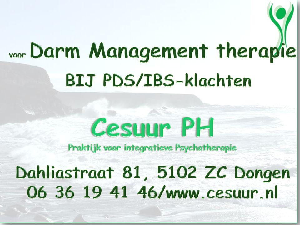 BIJ PDS/IBS-klachten Cesuur PH