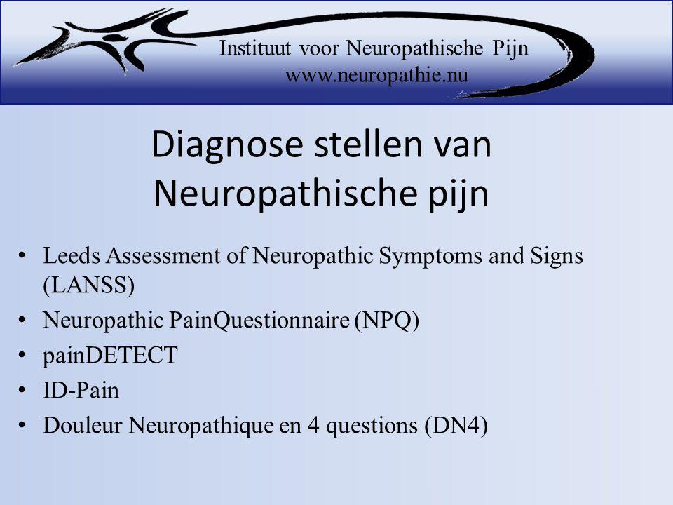 Diagnose stellen van Neuropathische pijn