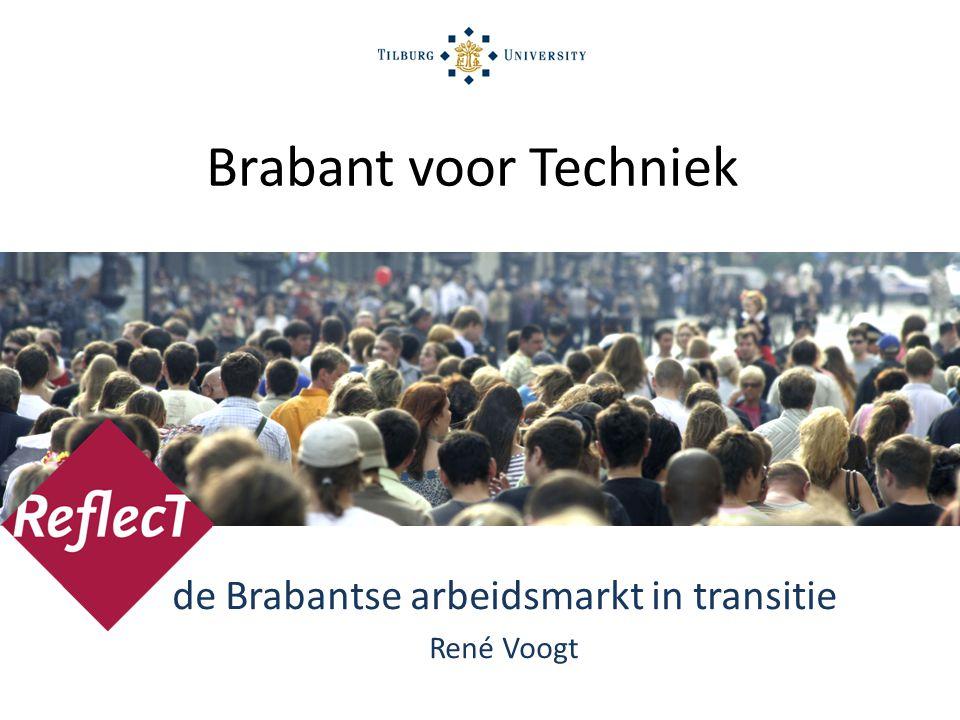 de Brabantse arbeidsmarkt in transitie René Voogt