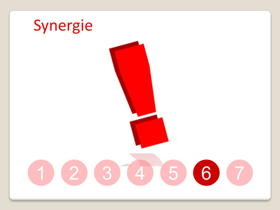 Synergie 1 2 3 4 5 6 7