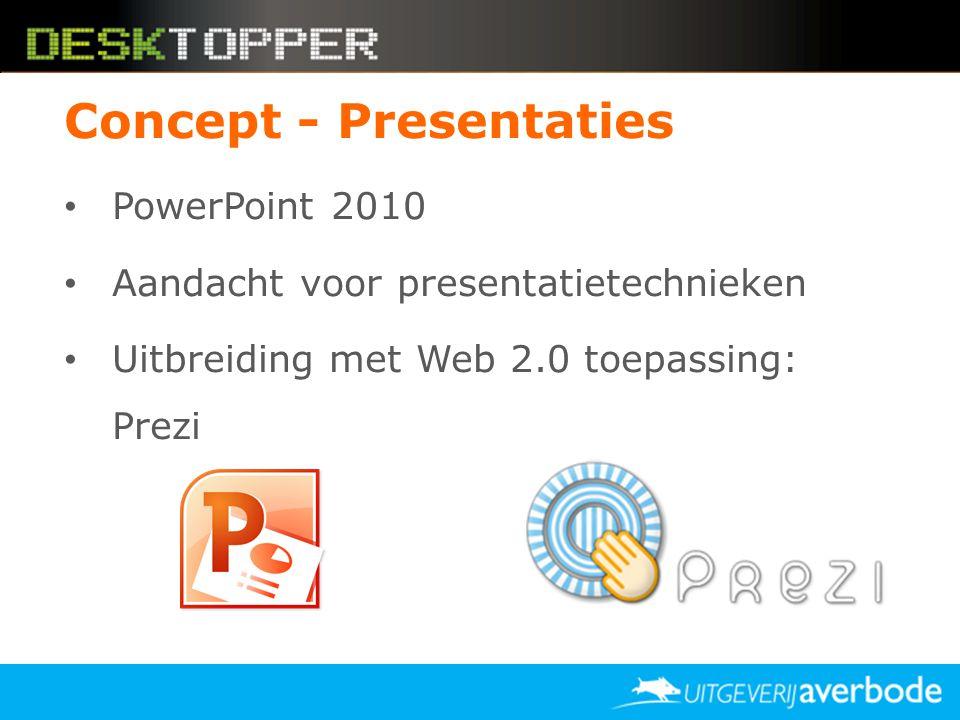 Concept - Presentaties