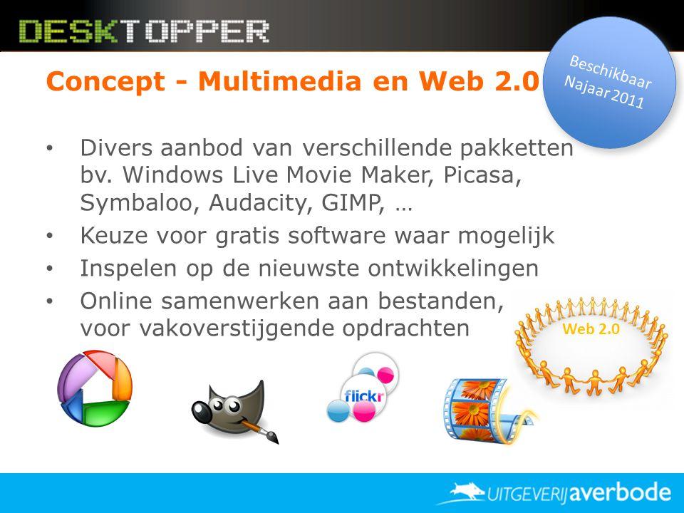 Concept - Multimedia en Web 2.0