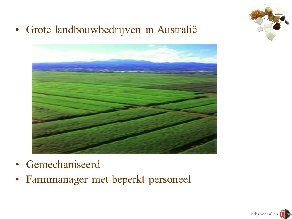Grote landbouwbedrijven in Australië