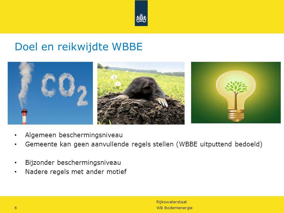 Doel en reikwijdte WBBE