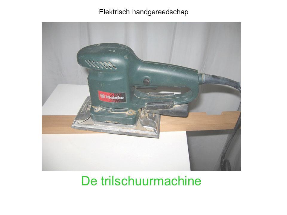 Elektrisch handgereedschap