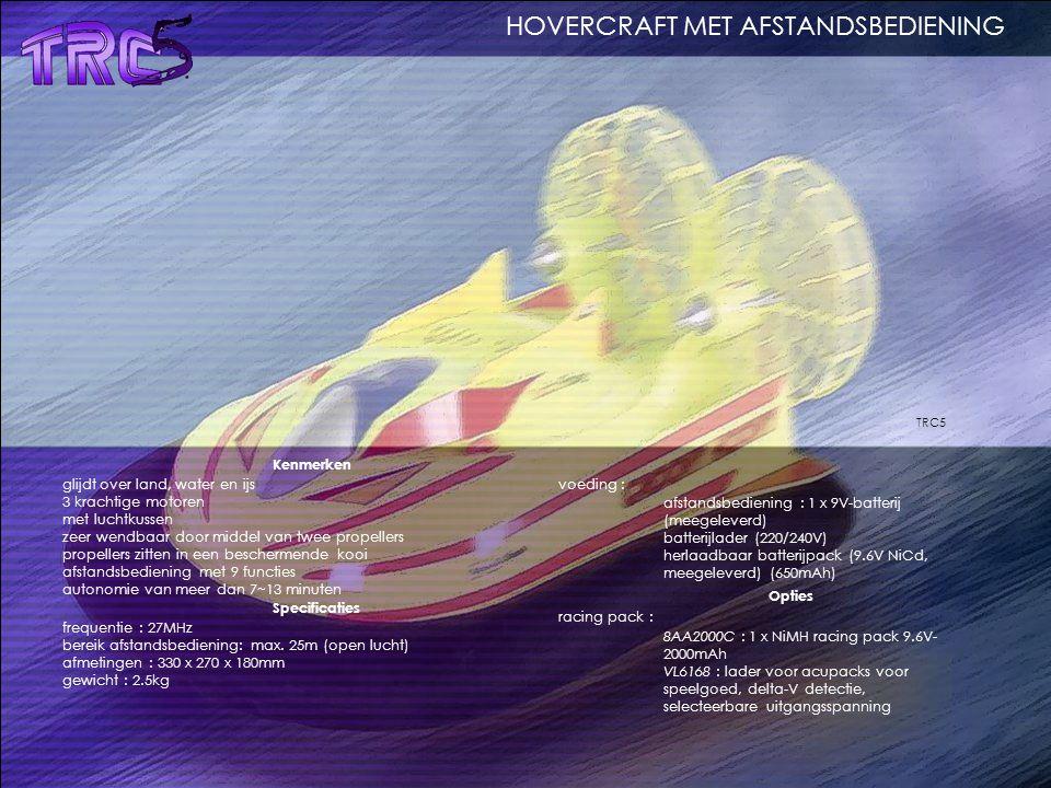 HOVERCRAFT MET AFSTANDSBEDIENING