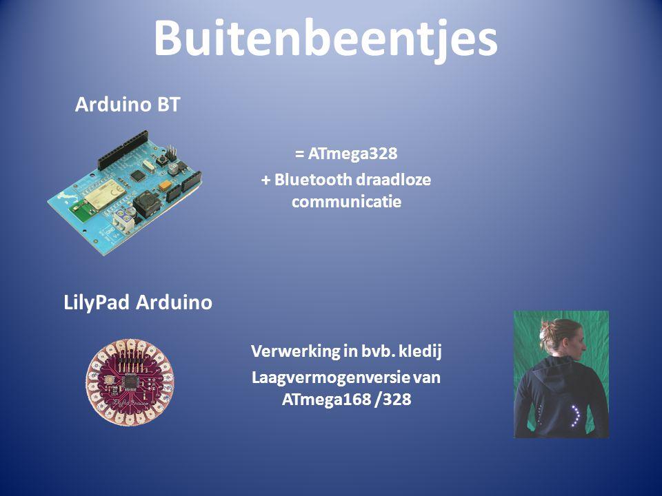 Buitenbeentjes Arduino BT LilyPad Arduino = ATmega328