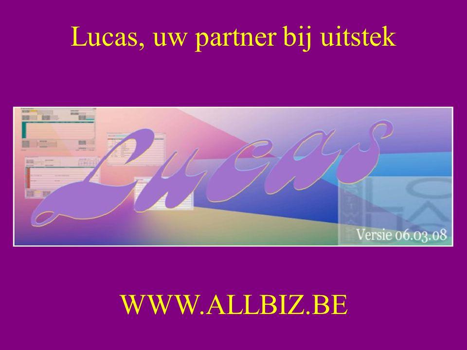 Lucas, uw partner bij uitstek