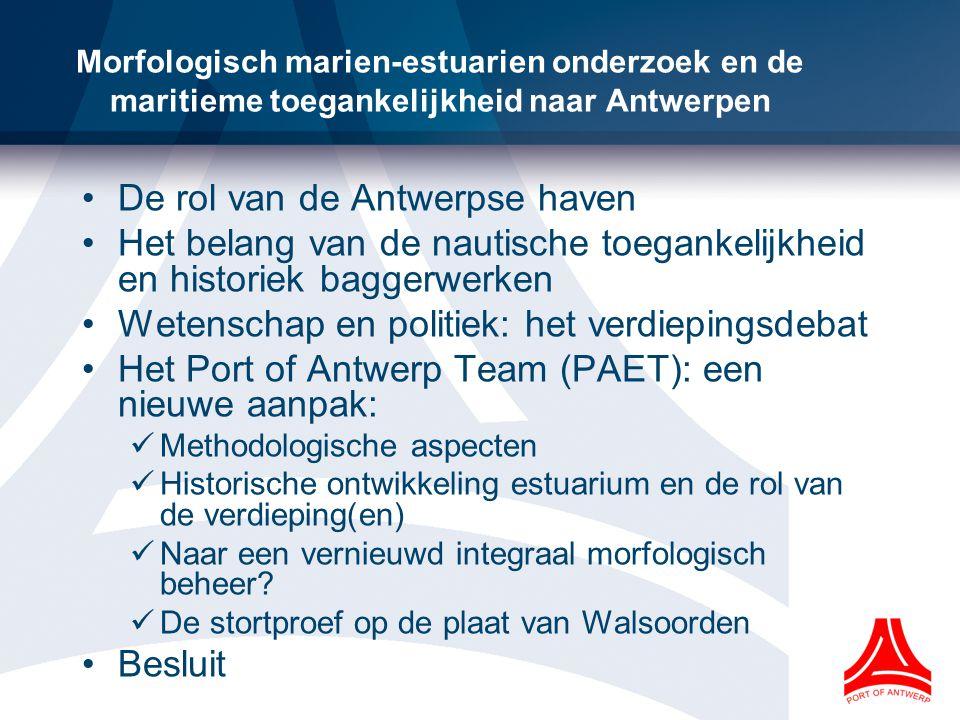 De rol van de Antwerpse haven