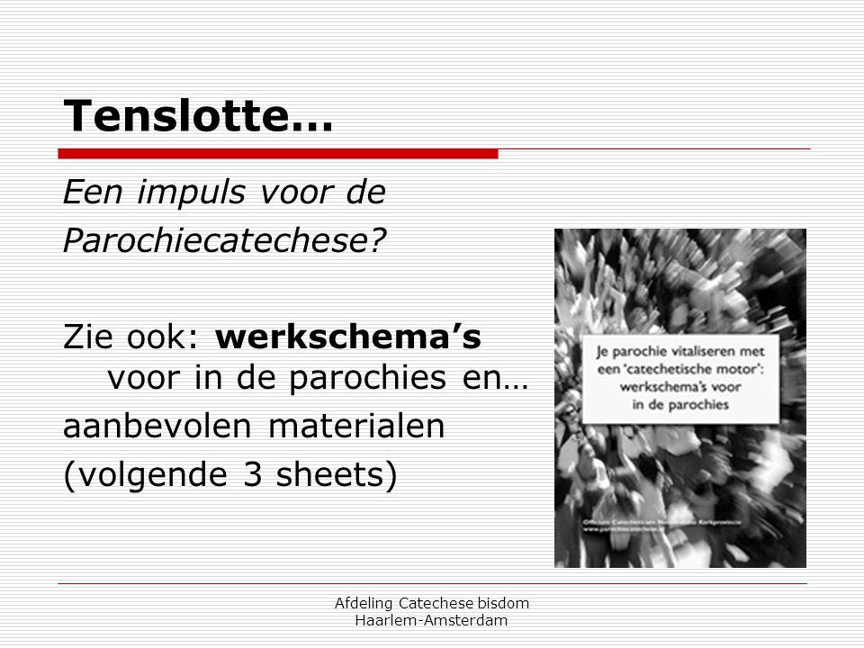 Afdeling Catechese bisdom Haarlem-Amsterdam
