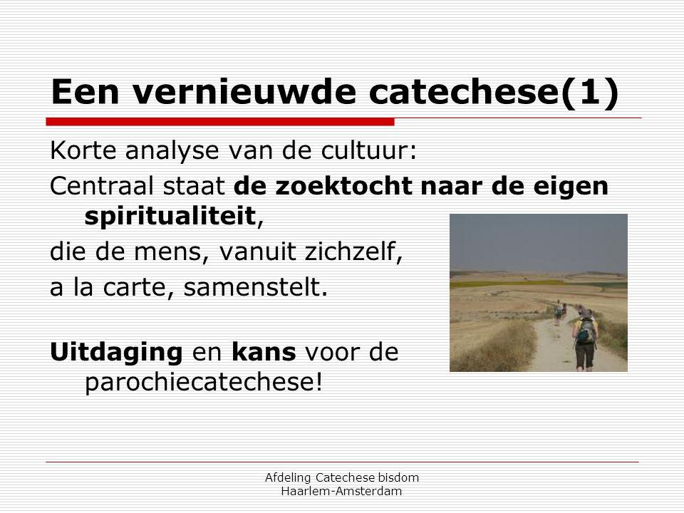Een vernieuwde catechese(1)