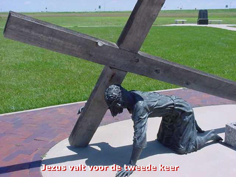 Jezus valt voor de tweede keer