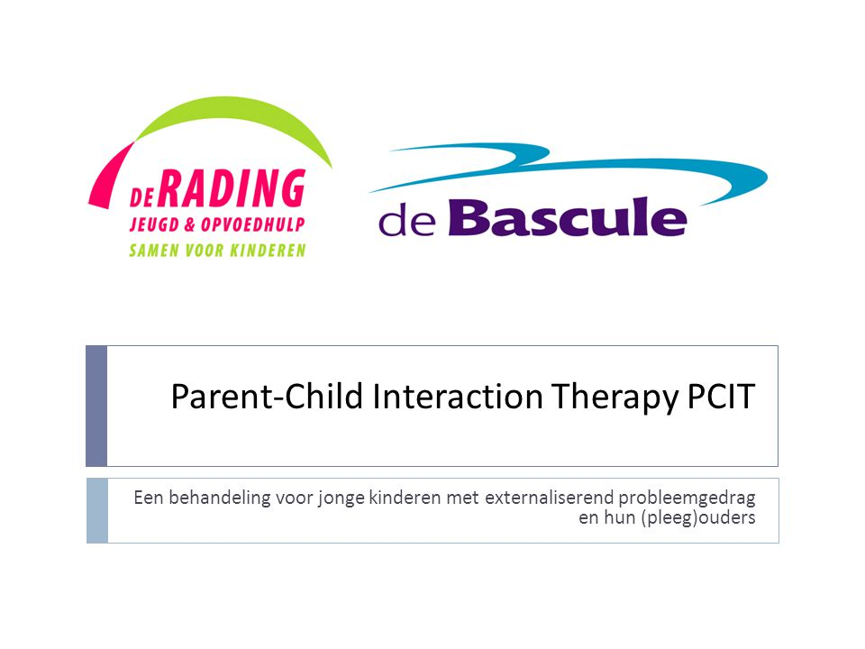 Parent-Child Interaction Therapy PCIT
