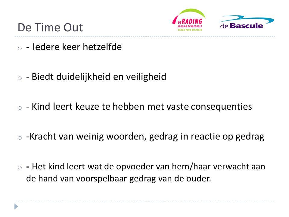 De Time Out - Iedere keer hetzelfde