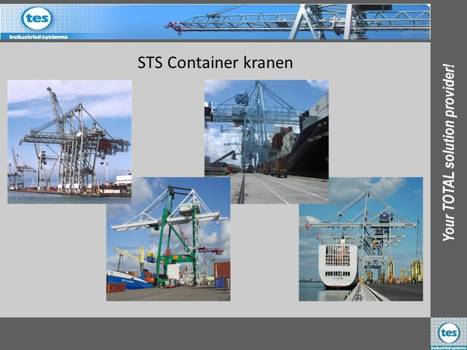 STS Container kranen KALMAR Industries B.V. PAR Rouen 4 st Frankrijk