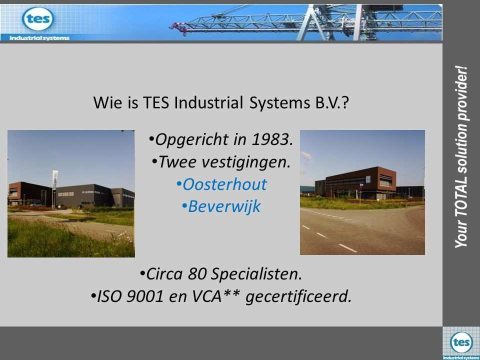 Wie is TES Industrial Systems B.V.
