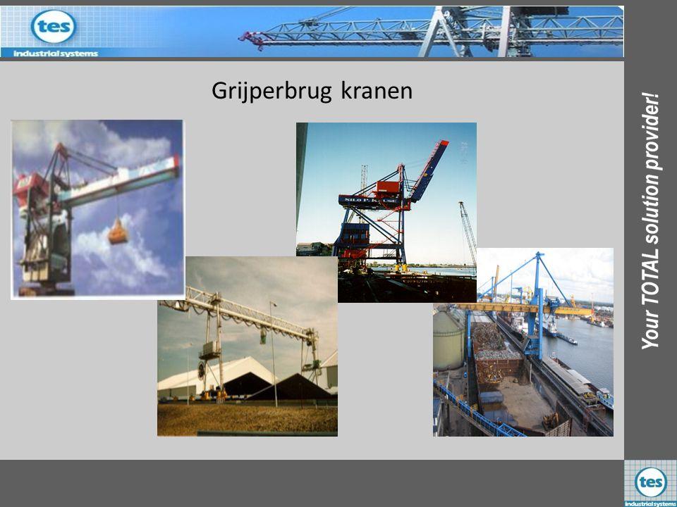 Grijperbrug kranen ADM 1 st Nederland Silo P Krusse 1 st Duitsland EBS