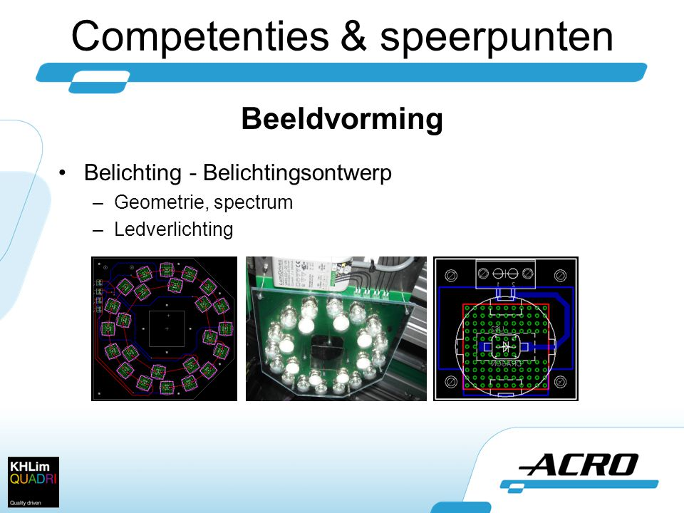 Competenties & speerpunten