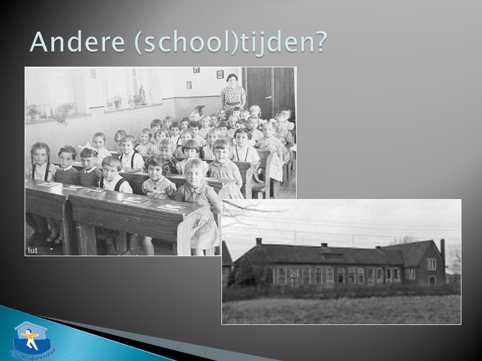 Andere (school)tijden