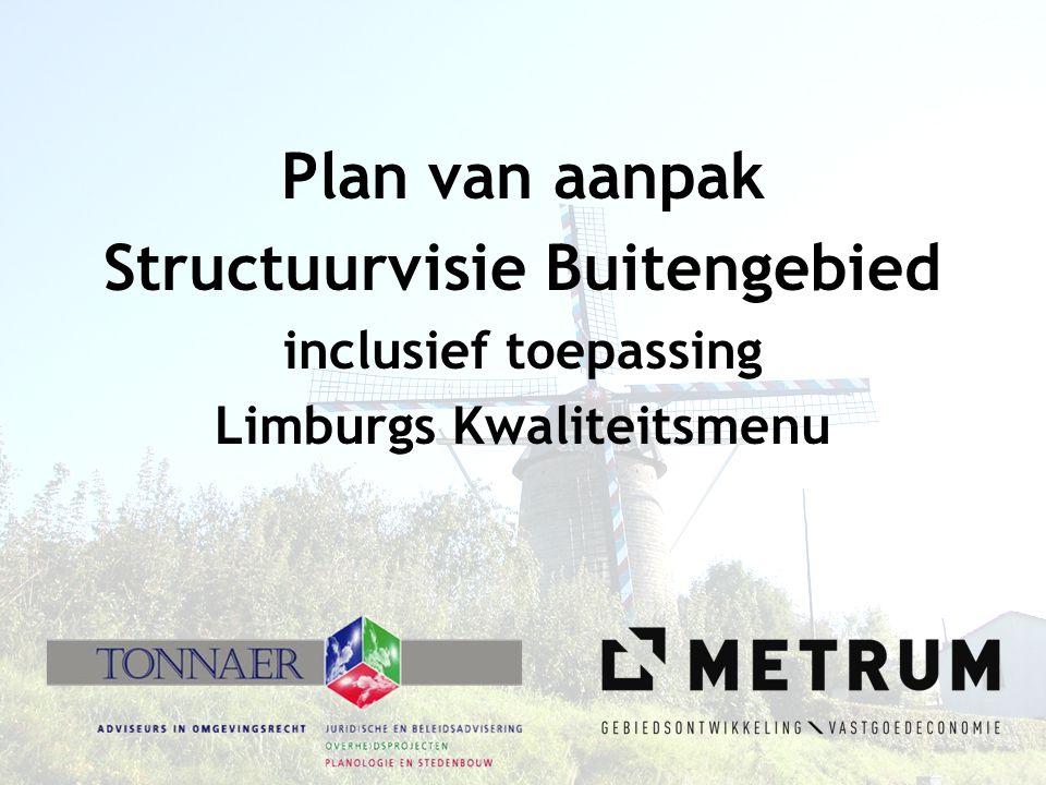 Structuurvisie Buitengebied Limburgs Kwaliteitsmenu