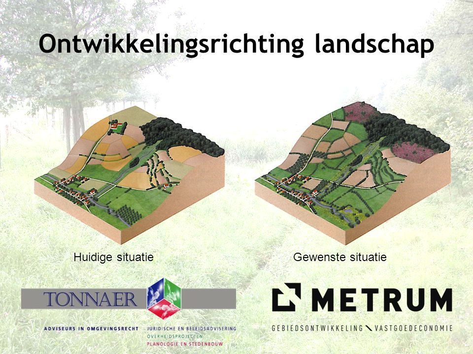 Ontwikkelingsrichting landschap