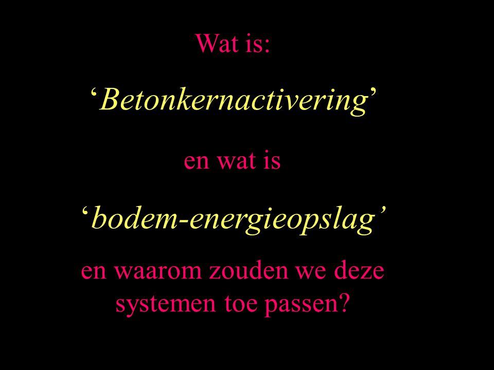'Betonkernactivering'