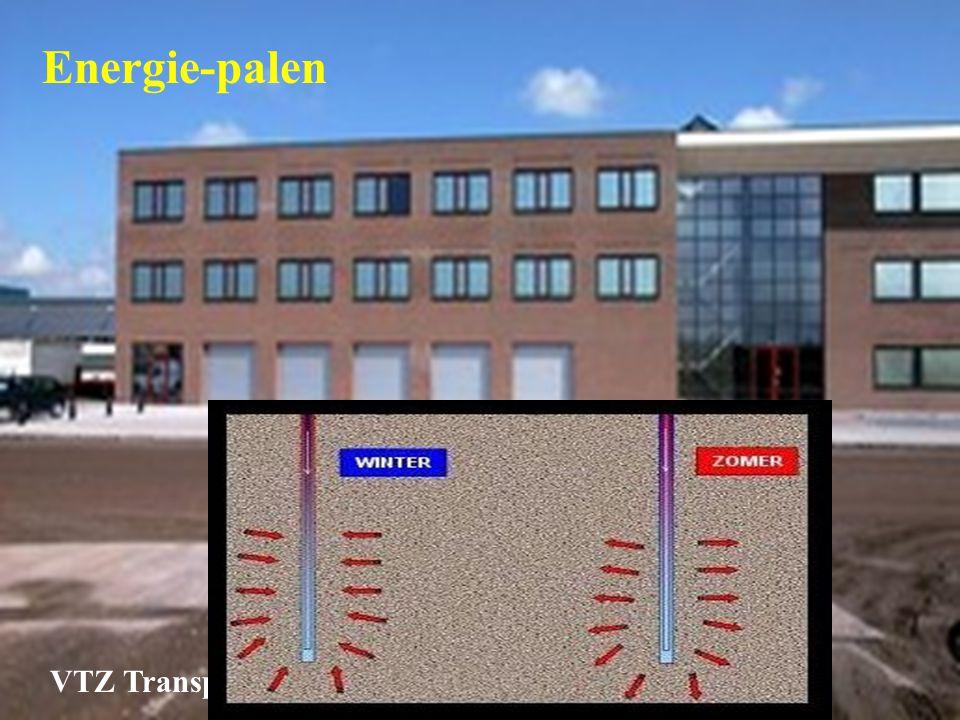 Energie-palen VTZ Transportgroep Wormerveer
