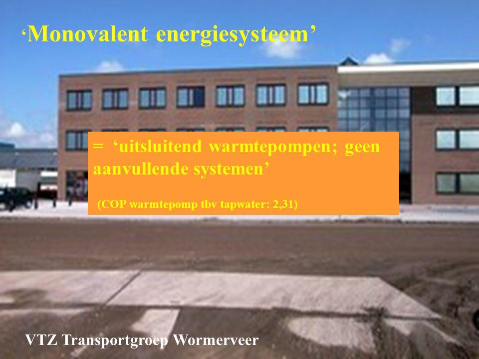 'Monovalent energiesysteem'