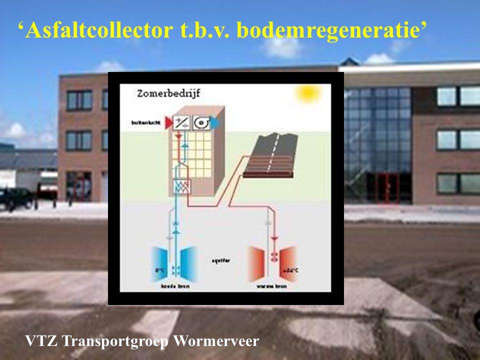 'Asfaltcollector t.b.v. bodemregeneratie'