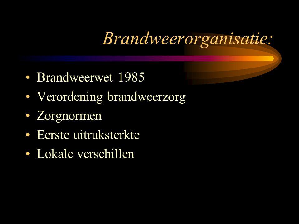 Brandweerorganisatie:
