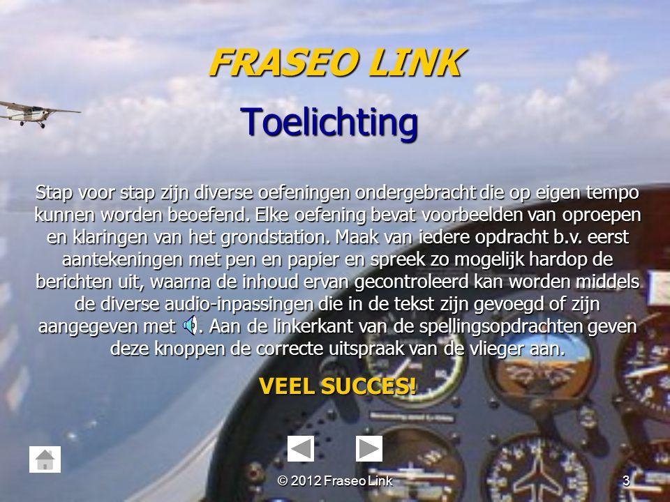 FRASEO LINK Toelichting VEEL SUCCES!