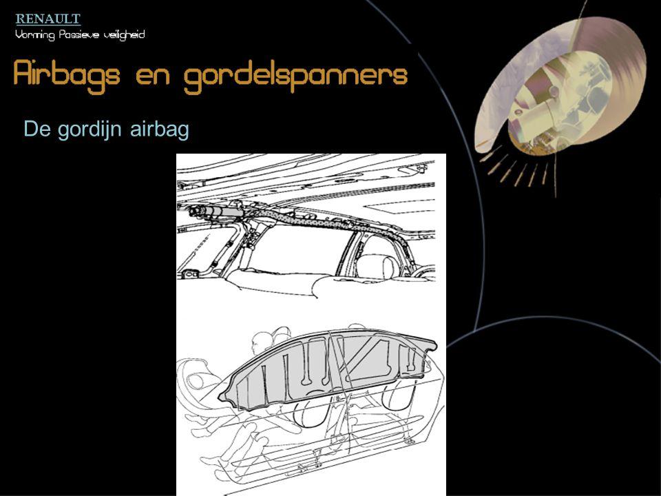 De gordijn airbag