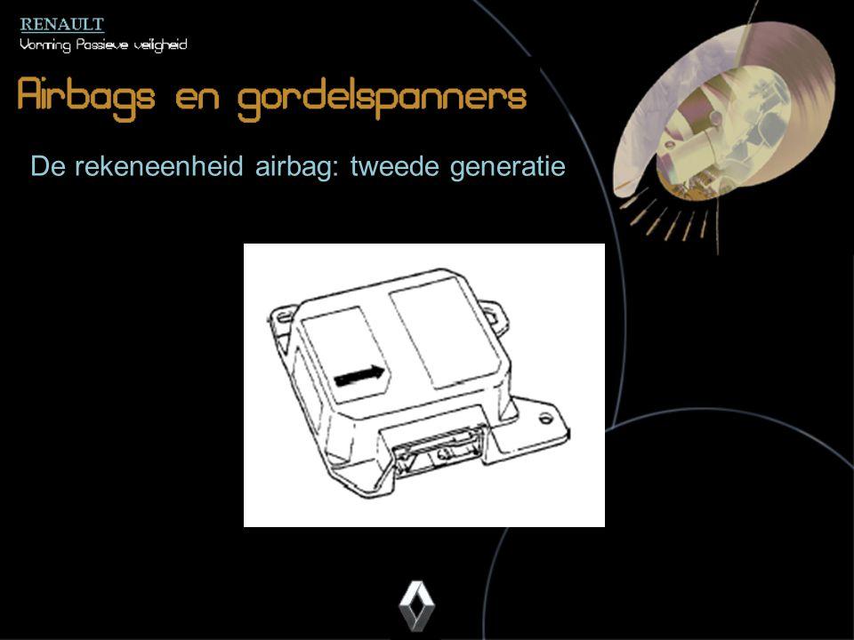 De rekeneenheid airbag: tweede generatie