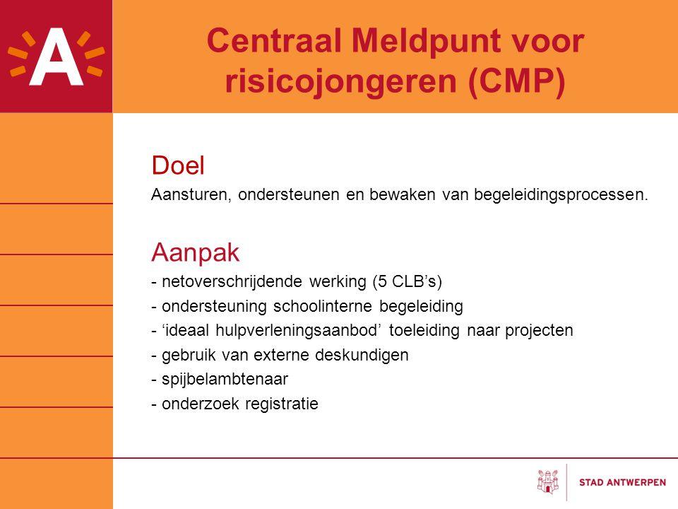 Centraal Meldpunt voor risicojongeren (CMP)