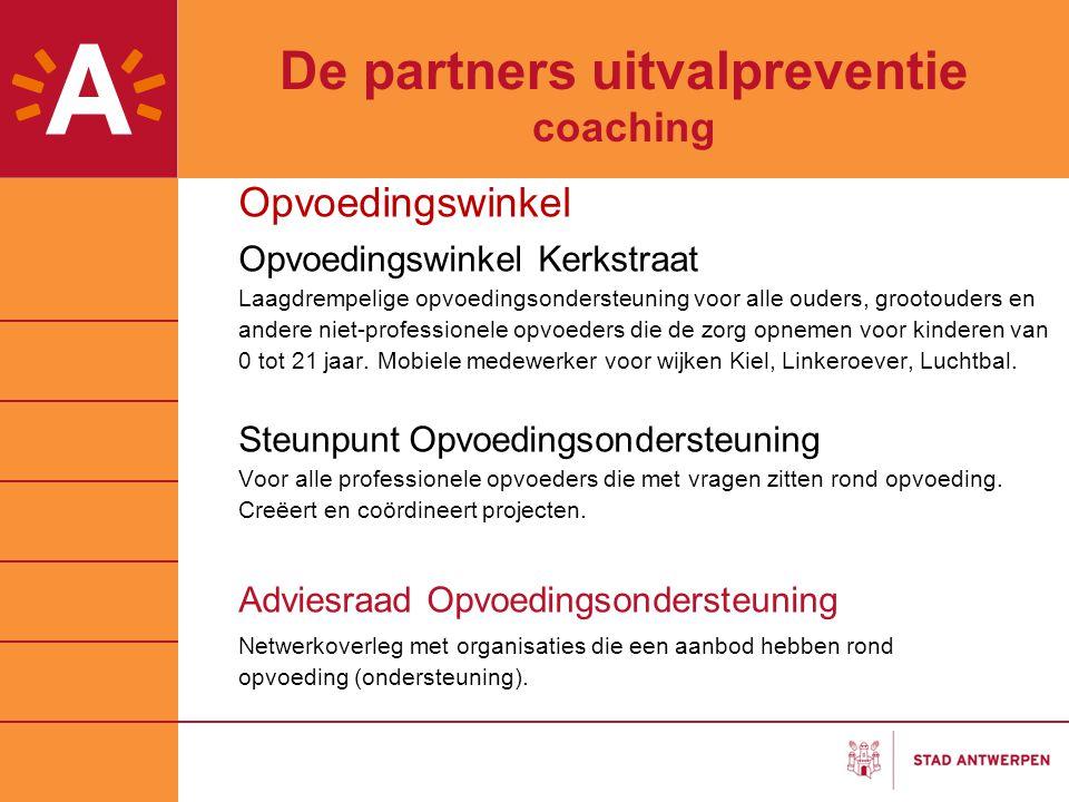 De partners uitvalpreventie coaching