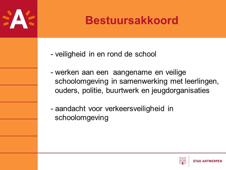 Bestuursakkoord - veiligheid in en rond de school