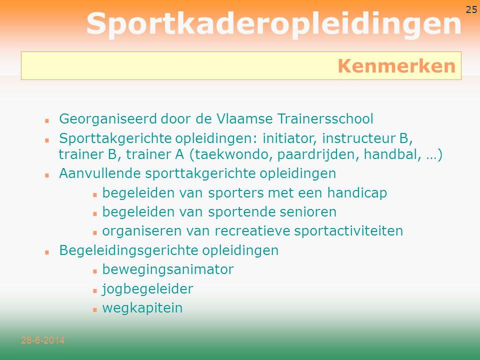 Sportkaderopleidingen